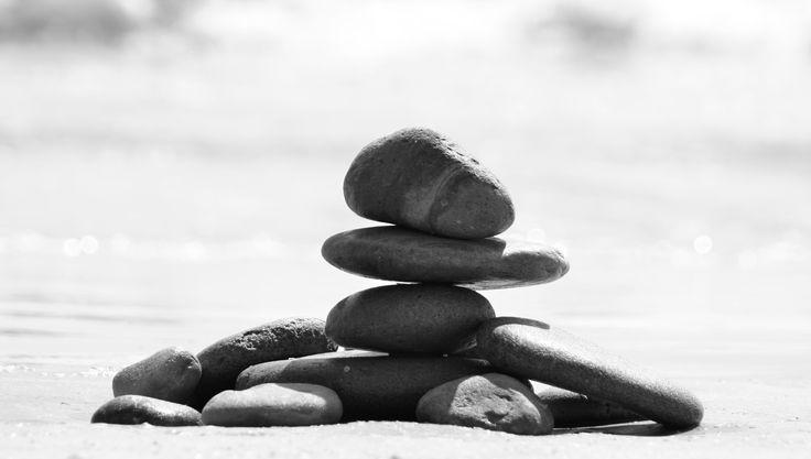 Rocks on the beach