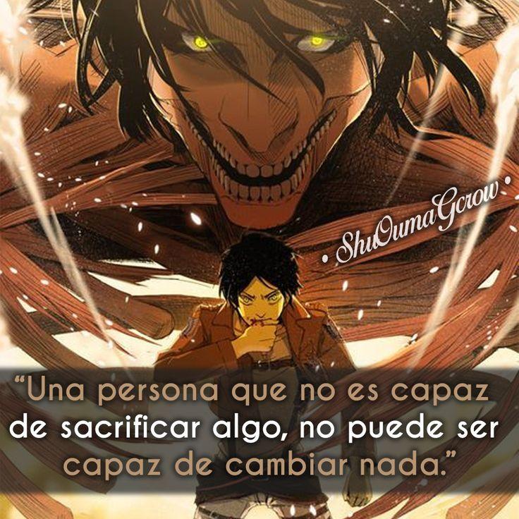 Una persona que no es capaz #ShuOumaGcrow #Anime #Frases_anime #frases