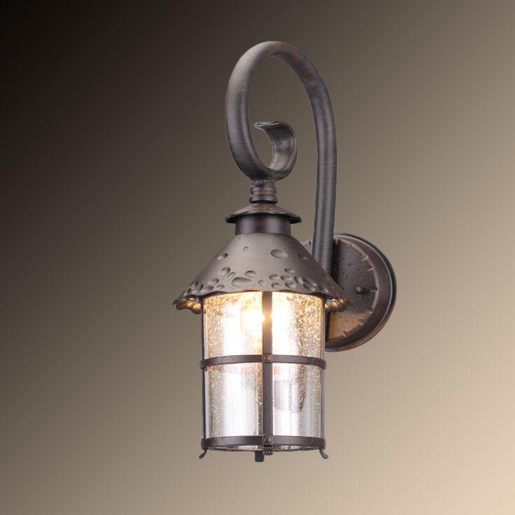 Уличный настенный светильник Arte Lamp Persia A1462AL-1RI — купить в интернет-магазине ВамСвет