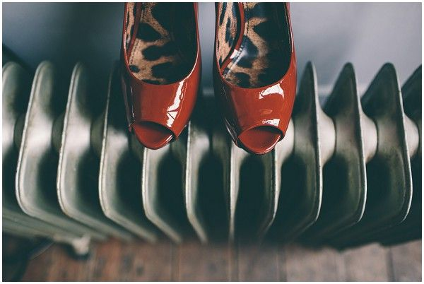 red bridal shoes  | Image by Samuel Docker Photography - Carla Cosgrove - Founder & Makeup Artist at Candour Store - wedding - France - Australian - eclectic - adventure - vintage -rustic chateau wedding - Karen Willis Holmes - Wil Valor - Samuel Docker Photography - French Wedding Style