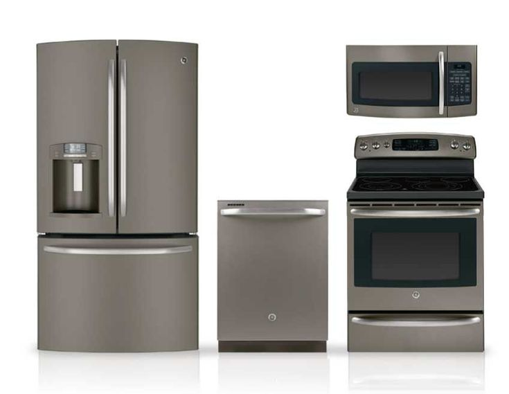 17 best images about kitchen on pinterest stove white - Stainless steel kitchen appliances set ...
