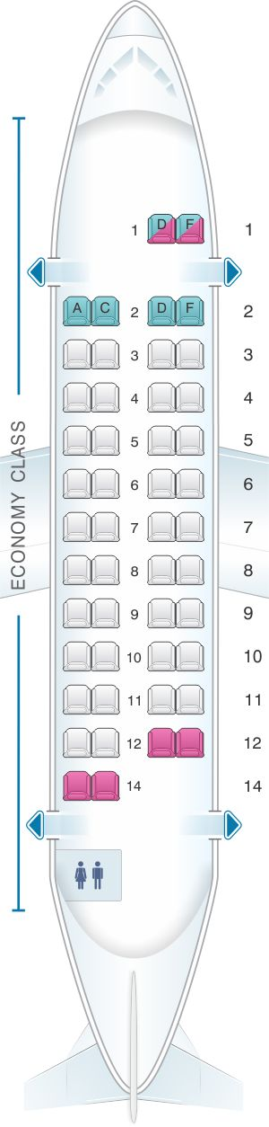 Seat Map ATR 42 320