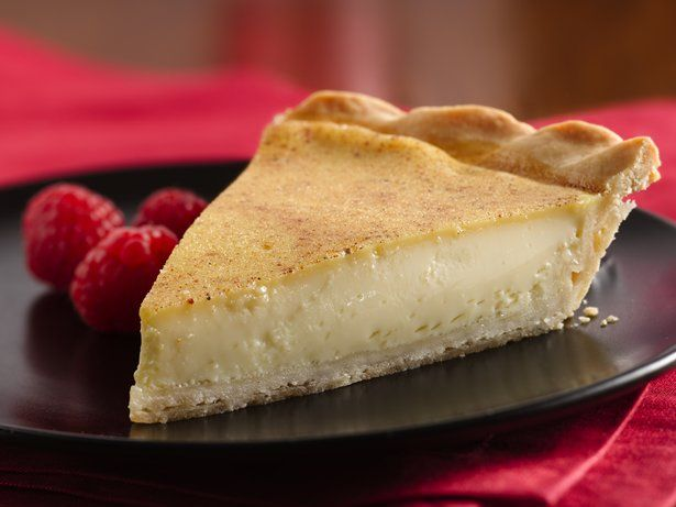 Bring back memories of Grandma's kitchen with this traditional custard pie in a homemade pastry crust.