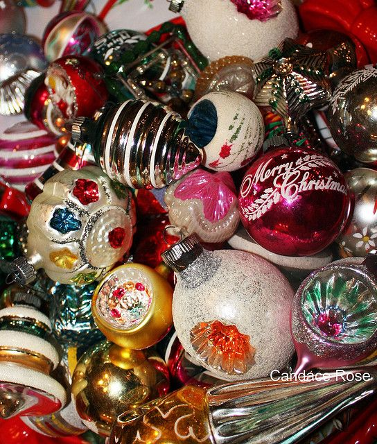vintage christmas decorations | Vintage Christmas Ornaments | Flickr - Photo Sharing!