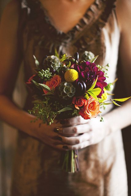 Autumn Bouquet At The Hobbs Building