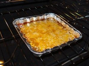 Skyline Chili Dip :Hubby's fav appy to bring! 1 brick light cream cheese, 1 can nuked Skyline Chili, 1 Bag Shredded cheddar cheese: 350 for 10 minutes...Serve with Frito Scoops!