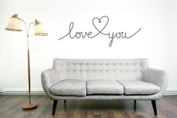 Love you by Stickaroo on hellopretty.co.za