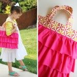 A Ruffled Tote (and lots of other repurposed clothes ideas!)