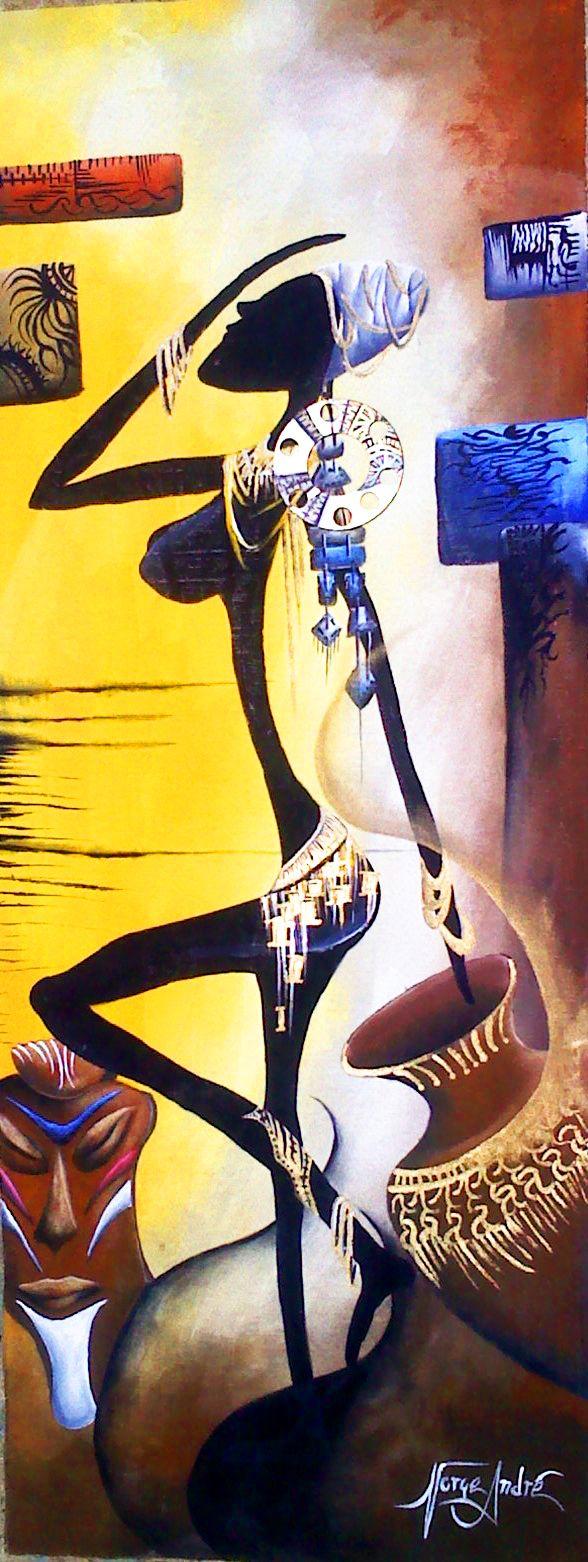 """pintura """"africana"""""""
