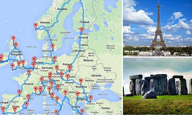explore european road trip
