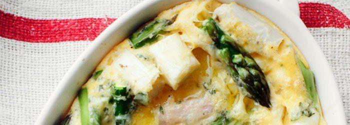 Zapiekany omlet ze szparagami | Blog | Kwestia Smaku