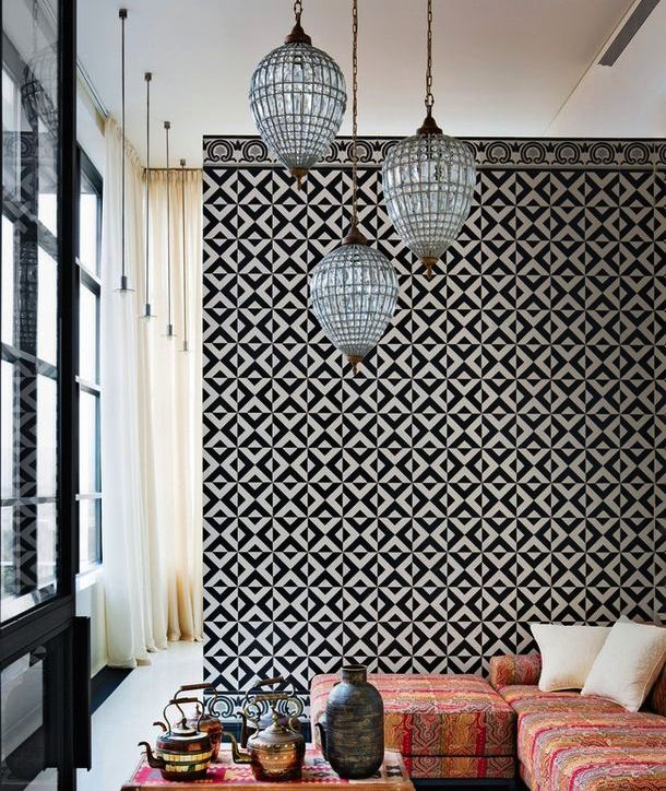 Mix and match déco urbaine et exotisme oriental
