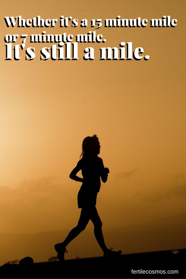What matters is you're taking an important step to improve your health