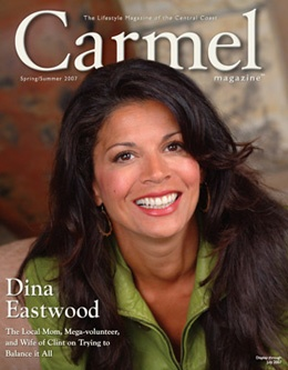 Interview with Dina Eastwood - Carmel Magazine
