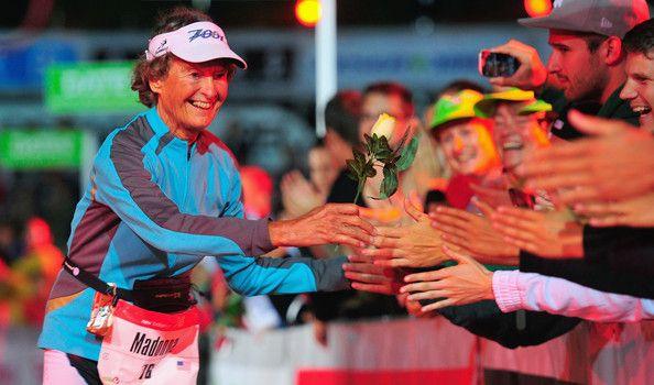 Madonna Buder Photos: Challenge Triathlon: Roth
