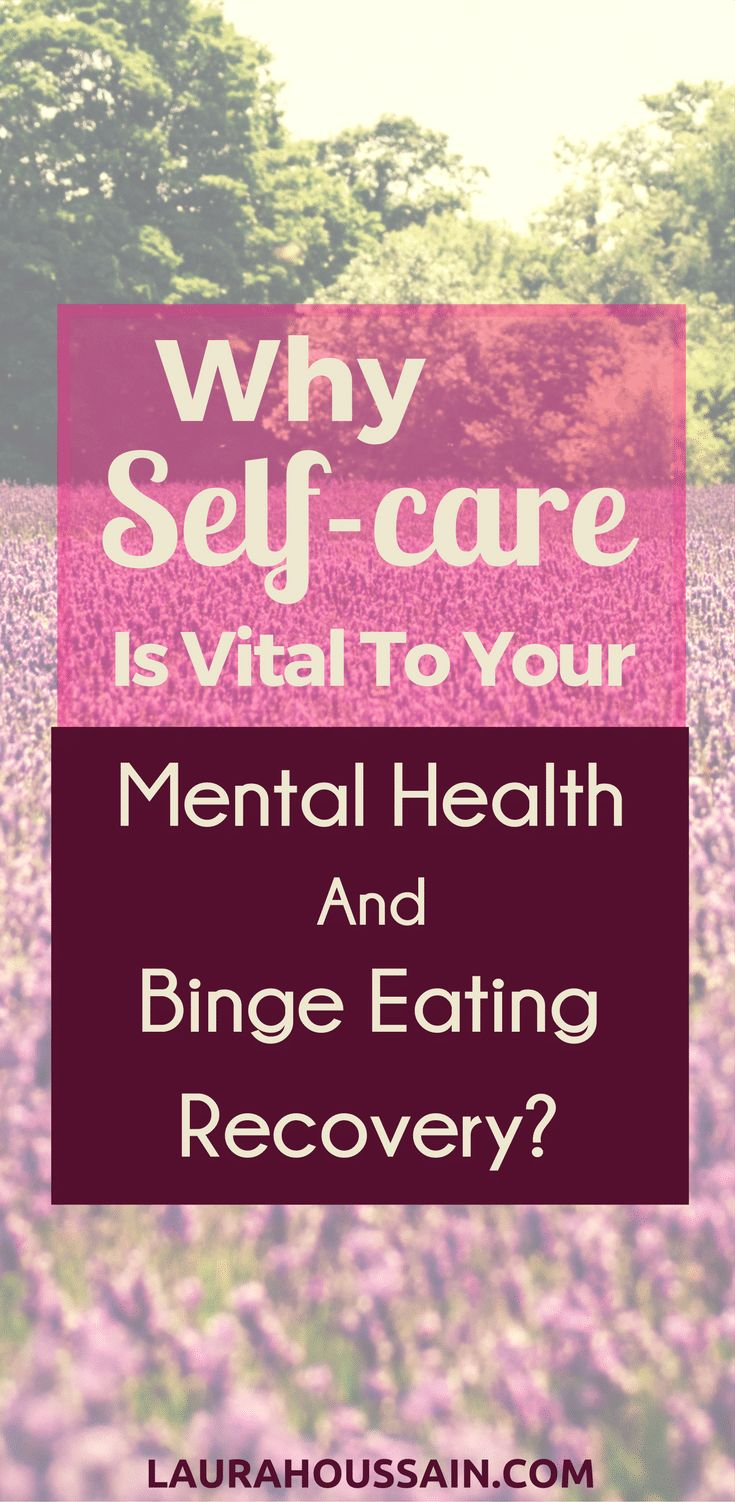 "Why Self-Care is Vital to Your Binge Eating Recovery & Mental Health Self-care can feel like such a chore"". Sarah told me after confessing another binge eating episode. What changed her mind will surprise you. She's now recovering and was very excited to report she had successfully resisted one of her most common binge eating triggers, one that use to make her binge every single time. You can have the same success this week!  Click on the image to read my post and find out how."