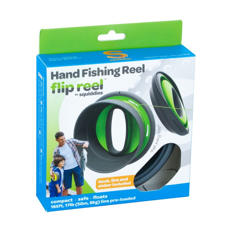 98 best images about flip reel by squiddies on pinterest for Handline fishing reel