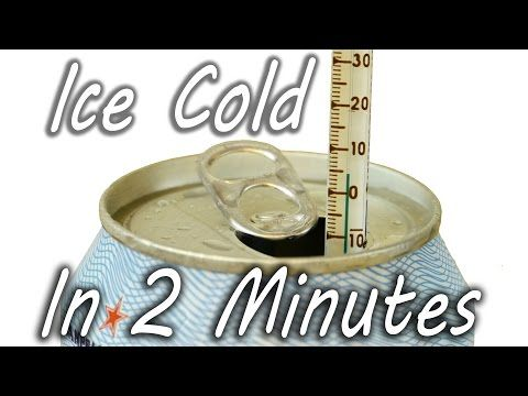 Trick to Cool Your Drink in 2 Minutes