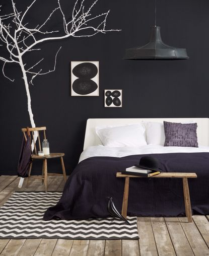 Am I brave enough to do a dark wall in the master bedroom?