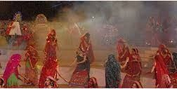 Garba is a traditional dance of Gujarat. It is celebrates in navratra.