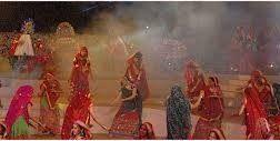 Garba is a traditional dance of Gujarat. It is celebrates in navratra.