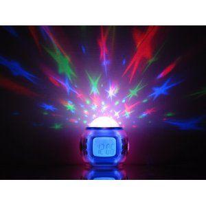 Tinxi Digital Kinderwecker Farbwechsel Moderner Projektion-Wecker Licht Farbwechsel 10 Naturklängen Sonderkonditionen « Lichtwecker