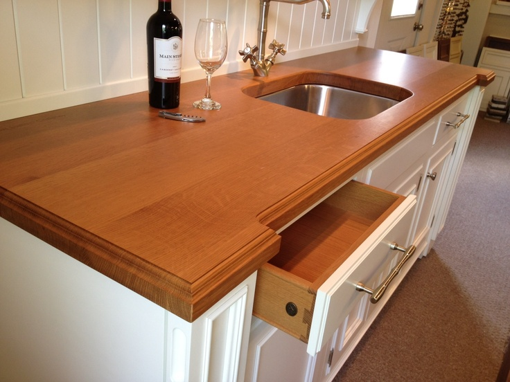 17 Best Images About Wood Countertops With Sinks On