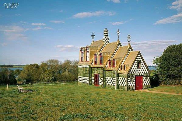 Living a Fantasy: A House for Essex by Grayson Perry and Charles Holland | Projects | Interior Design