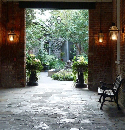 1000 images about new orleans creole courtyards on for Garage ad orleans