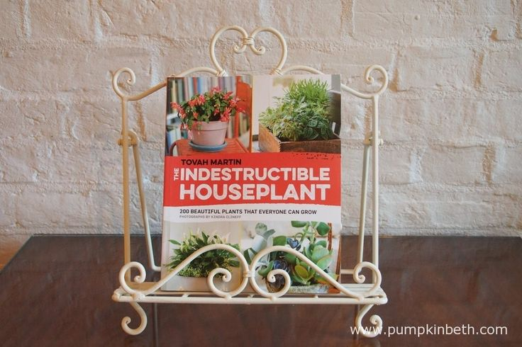 The Indestructible Houseplant - 200 Beautiful Plants That Everyone Can Grow by Tovah Martin, photographs by Kindra Clineff.