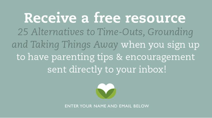 "7 Alternatives to Using ""Time Out"" - Imperfect Families"