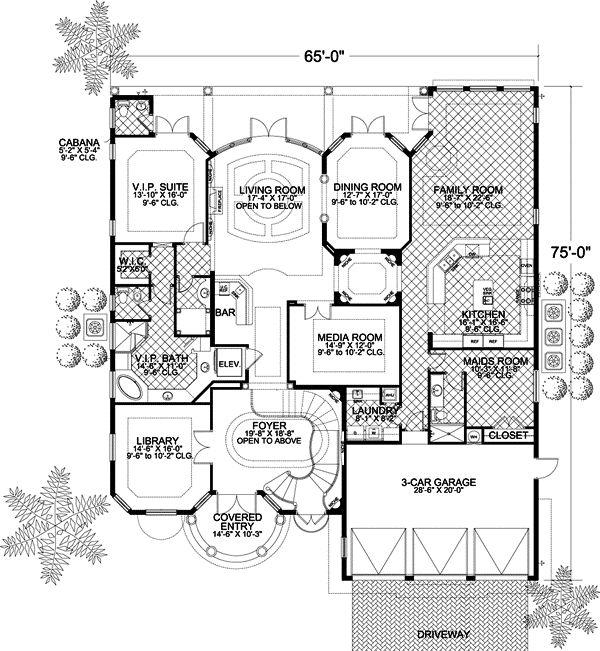 Best Floor Plans Images On Pinterest Dream Houses House