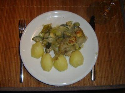 Visfilets met prei en pesto is een lekker recept, Vis en prei, een perfect huwelijk!