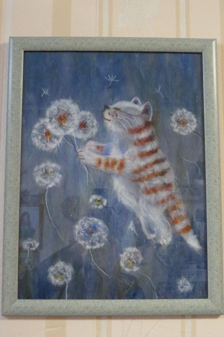 Шерстяной кот