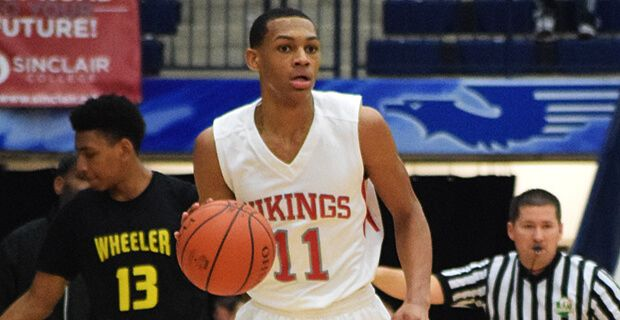 2018 wing Darius Bazley de-commits from Ohio State = The top player in the state of Ohio for the 2018 recruiting class, Darius Bazley, has de-committed from the Ohio State Buckeyes men's basketball program. He opened his recruitment process back up on Wednesday via Twitter…..
