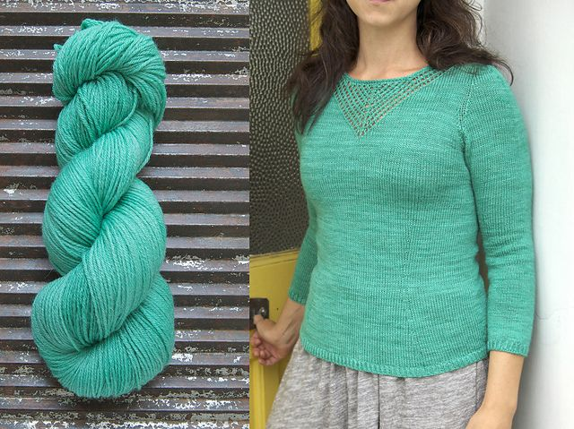 Love this long sleeved version of Amélie Ravelry: louhie's Sur le fil