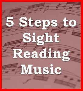 5 Vital Steps to Sight Reading Music and FREE downloadable exercise with recording.