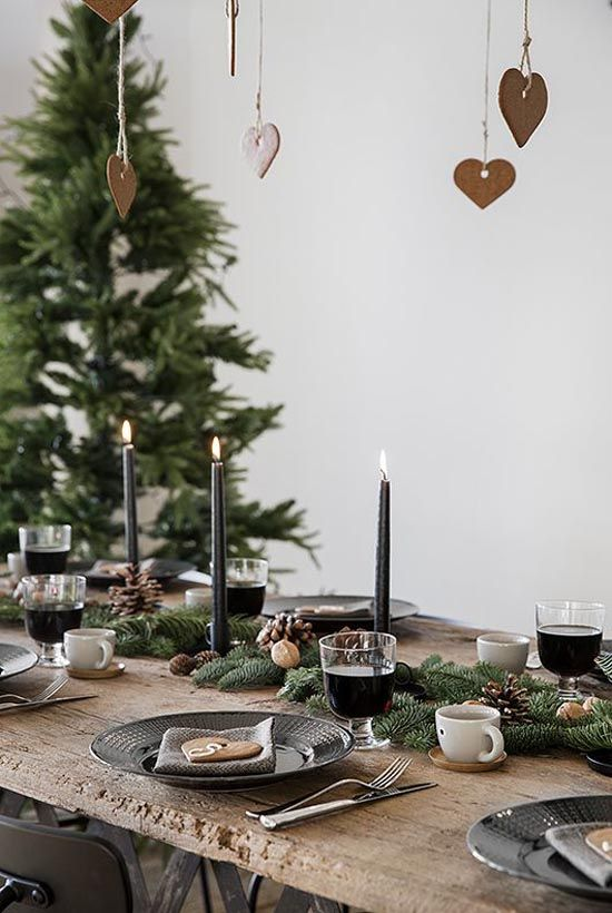 Christmas Table Settings 808 best christmas table decorations images on pinterest