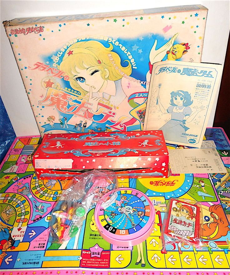 LALABEL Raraberu 80s Japan table game loose - gioco da tavola usato