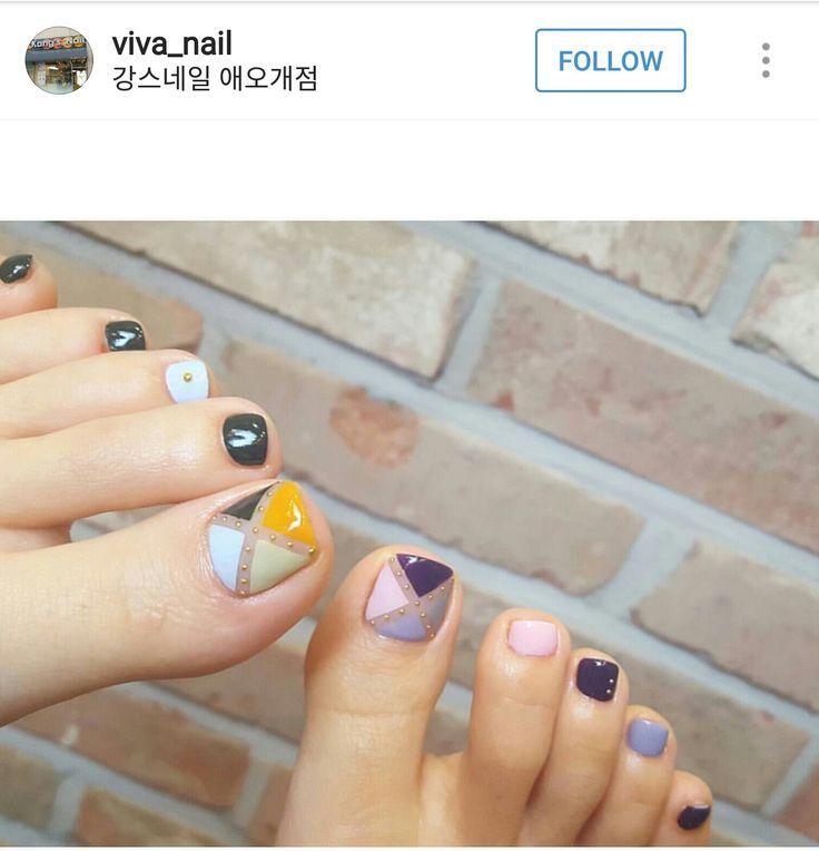 korean nail art                                                                                                                                                                                 More