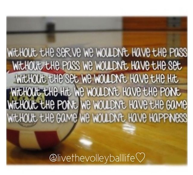 Volleyball quote!!