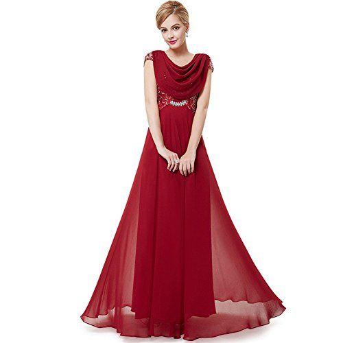 Oyvind Norberg Damen Lila Abend Lange formal Gown Elegant Maxi Schnüren Kleid