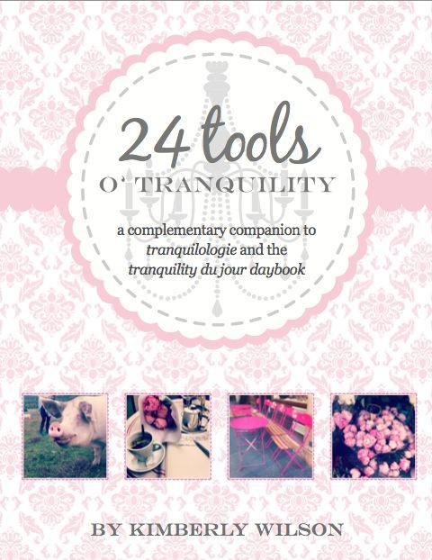 24 tools o' tranquility - PDF - kimberly wilson...