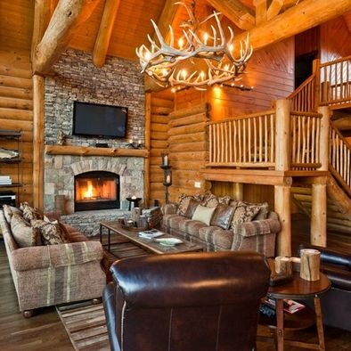 1000 images about wood cabins on pinterest hunting for Rustic hunting cabins