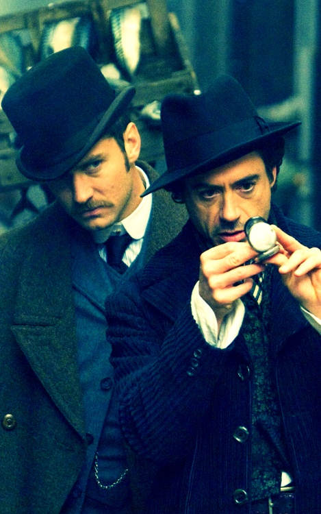 John Watson and Sherlock Holmes. Not my favorite actors, but they're sure up there.