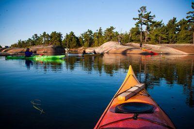 Georgian Bay Islands National Park - Canoeing/Kayaking