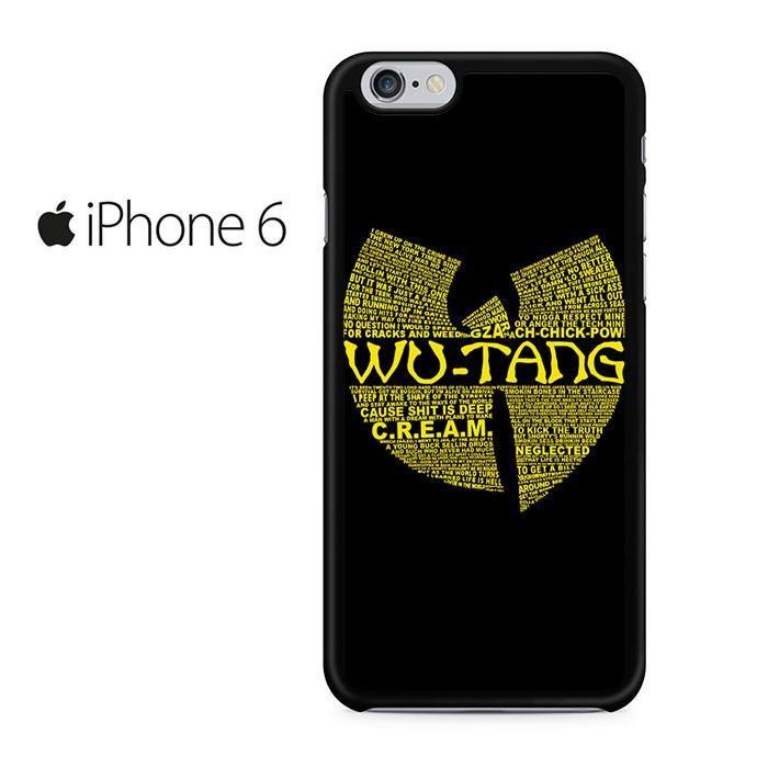 Wu Tang Clan Logo Iphone 6 Iphone 6S Case