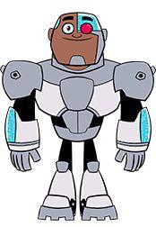 Cyborg from Teen Titans Go