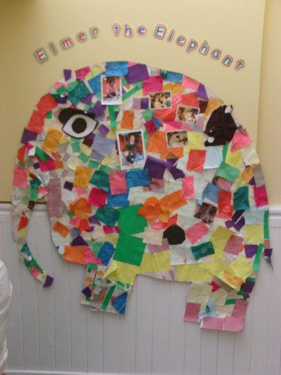 Elmer the Elephant Display, classroom display, class display, Story, Elmer, Elephant, colour,reading, book, Early Years (EYFS), KS1 & KS2 Primary Resources