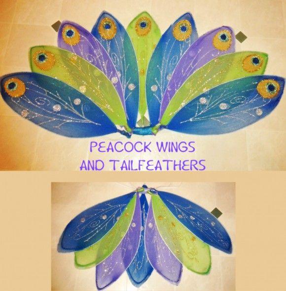 手机壳定制jordan sport  How to make Peacock costume from dollar store fairy wings